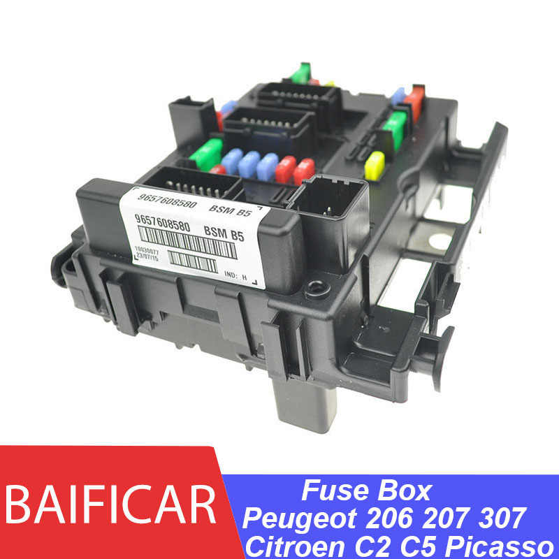 brand new genuine fuse box unit assembly under bonnet 9657608580 bsm b5 b3  b4 for citroen c2 c5 picasso peugeot 206 207 307|fuse box|fuse box fusesbox  fuse - aliexpress  global online shopping for apparel, phones, computers, electronics, fashion  and more on aliexpress