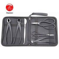 Beginner bonsai tool kit 6 PCS Branch Cutter Knob Cutter Root Pruning Scissors Long Handle Scissors Wire Cutter Bonsai Tweezers