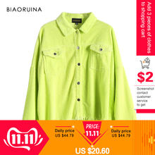 Jacket Coat BIAORUINA Loose