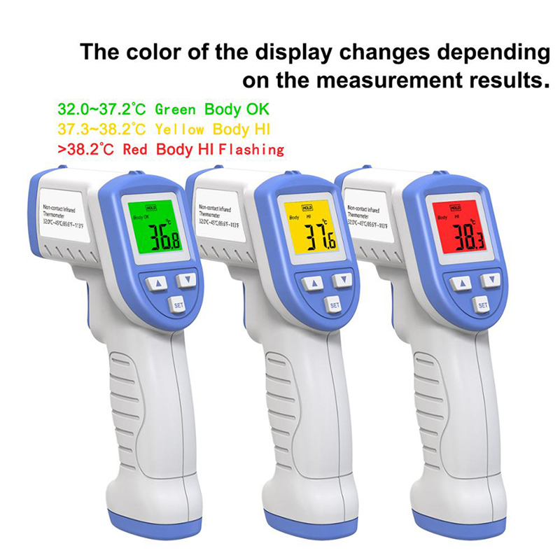 Non-contact Infrared Body Thermometer Digital Infrared Forehead Body Temperature