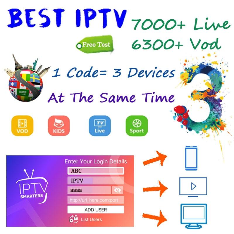 World IPTV Subscription Android…
