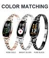 H819 Смарт-часы женские водонепроницаемые тепловые мониторы Bluetooth умные часы IOS Android леди подарок модный браслет для занятий спортом