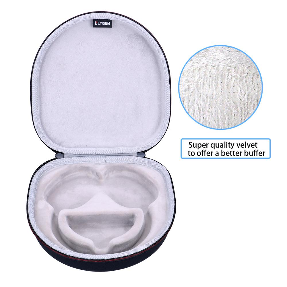 LTGEM EVA Hard Case for Sennheiser PXC 550 /& Sennheiser PXC 550-II Wireless NoiseGard Adaptive Noise Cancelling Bluetooth Headphone