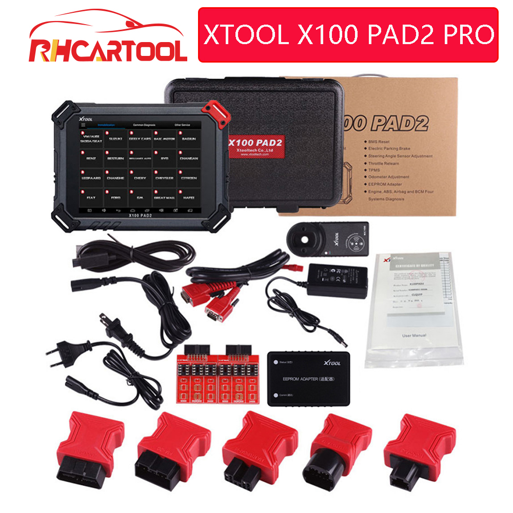 Original XTOOL X100 PADII PAD 2 PRO with for VW 4th 5th X100 PAD2 better than X300 Pro3 with Special function DHL Free Shipping-in Auto Key Programmers from Automobiles & Motorcycles on