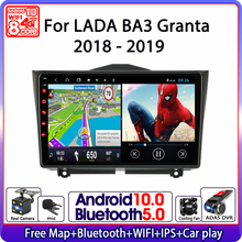 "9"" Android 10 Car Radio For LADA BA3 Granta Cross 2018 2019 Multimedia Video Player Navigation GPS 2 Din WiFi Carplay Head Unit"