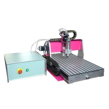 CNC4060, mini máquina de grabado láser cnc DIY, fresadora pcb, enrutador de madera, grabado láser, 460 cnc, el mejor juguete