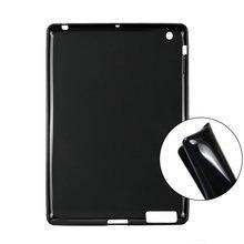 Чехол для ipad 2 3 4 97 дюймов Мягкий силикон защитный чехол