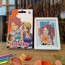 Anime fairy tail cosplay playing cards cartoon deck poker party