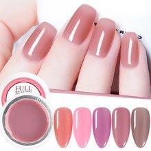 Esmalte de unhas rosa de geléia 12 cores, esmalte de unhas de gel uv led, verniz de luz transparente e transparente, esmalte de gel fosco tr1777 manicure