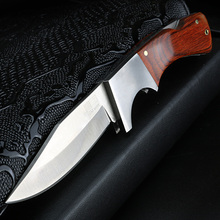 Xuan feng faca de caça ao ar livre faca de sobrevivência selvagem faca de acampamento tático faca de caça alta dureza faca de aço dobrável