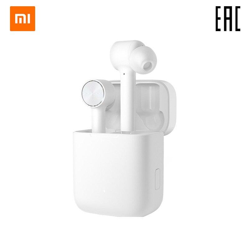 Fones de ouvido xiao mi airdots pro mi verdadeiro sem fio fones de ouvido (branco)