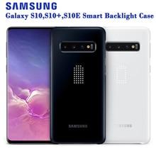Samsung Originele Intelligente Led Telefoon Case Voor Samsung Galaxy S10E S10X S10 Plus S10Plus SM G9700 G9730 Hard Telefoon Cover