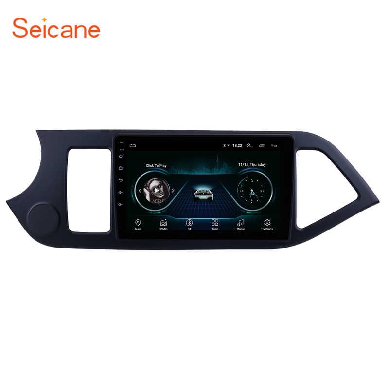 """Seicane 2Din アンドロイド 8.1 9 """"2011 2012 2013 2014 KIA PICANTO 朝 GPS マルチメディアプレーヤーヘッドユニット Wifi 4 コア"""