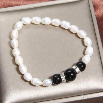 Bracelet Avec Cornaline Et Pierre De Lune