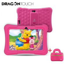 Anak-anak Tablet untuk Anak Dragon Touch Y88X Pro 7 ''HD Display Anak-anak Tablet 16GB Android 9.0 Tablet dengan tablet Tas Tablet PC(China)