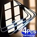4 шт. полное покрытие закаленное стекло для Huawei P30 P40 Lite E P20 Pro Защитная пленка для Mate 20 30 Lite P Smart Z стекло