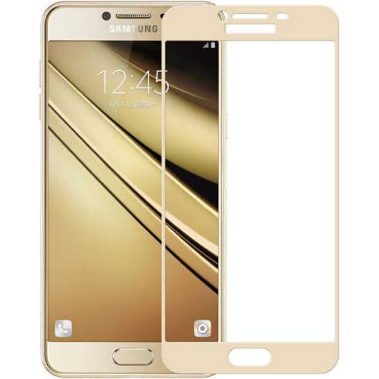 3D Volle Abdeckung 9H Premium Gehärtetem Glas Für Samsung Galaxy C5 C7 Pro Screen Protector HD Schutz Film