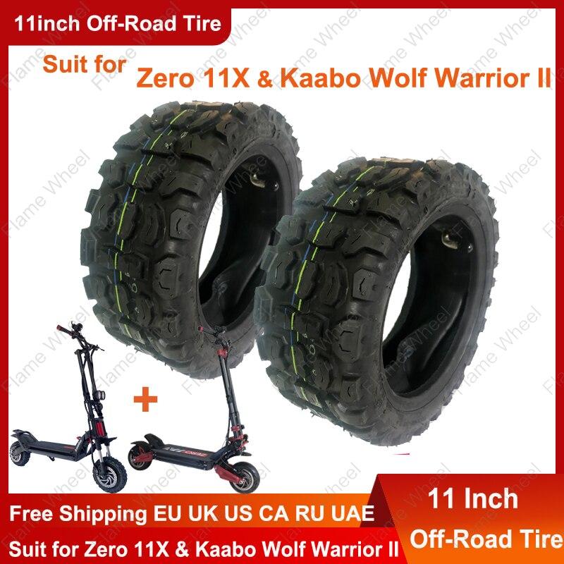 11 дюймов внедорожные шины 90/65-6,5 внутренняя труба для электрического скутера нулевой 11X и Kaabo волка воина II
