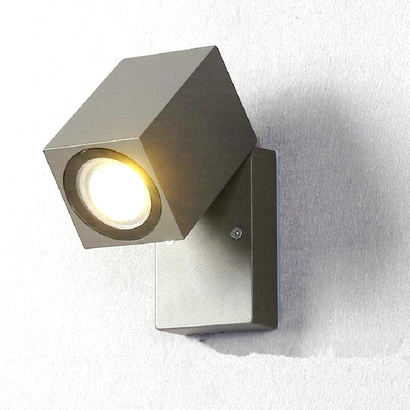 GU10 COB LED Outdoor Wall Light Waterproof IP65 Wall Lamp AC85V-265V porch outdoor lighting