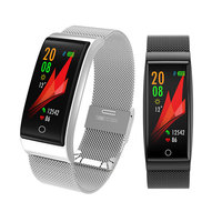 Blood Pressure Monitor Wristband tonometer Heart Rate Monitor Digital tensiometro Watch Oxymeter Pulsometer Smart Metal Bracelet
