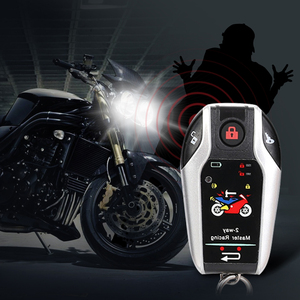 Image 5 - Two Way Motorcycle Alarm Device Anti theft System Scooter Burglary Vibration Alarm Remote Engine Start 5meter Auto lock 5