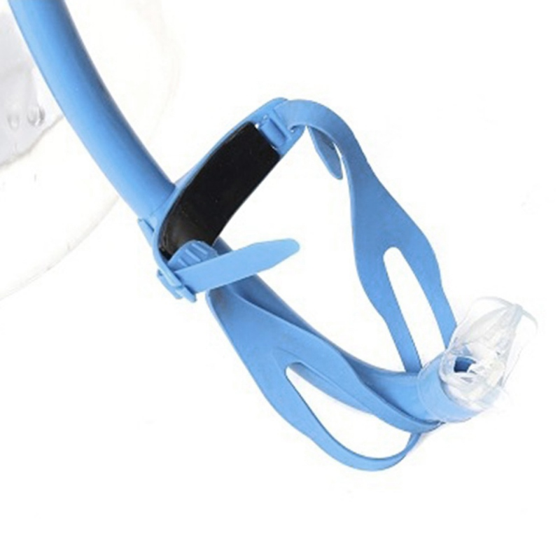 Positive Snorkel Professional Swimming Training Swimming Freestyle Breathing Tube Single Diving Tube Snorkeling Equipment