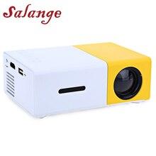 Salange YG300 Мини проектор светодиодный проектор 500LM Аудио HDMI USB мини YG-300 Proyector домашний кинотеатр медиаплеер
