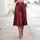 Wine Red Skirts For ...