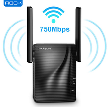 ROCK 750Mbps WiFi Range Extender Wifi Repeater Signal Booster WiFi Extender Supports Dual Band with Ethernet Port&WPS Button