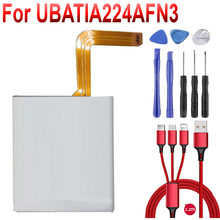 UBATIA224AFN3 2080mAh 8.0WH 3.8v battery for SHARP cell phone battery UBATIA224AFN3 Mobile Phone Batterie Batt+USB cable+toolkit(China)