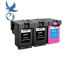 PY compatível para hp 304 Deskjet 304xl Cartucho de Tinta para hp 304 xl 3720 3721 3723 3724 3730 3732 3752 3755 3758 printer
