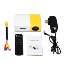 Vivibright mini projetor de led yg300, YG 300 mini, lcd, 400 600lm, 1080p, vídeo 320x240 pixel, melhor projetor de casa