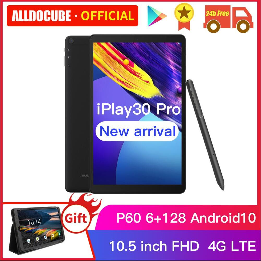 ALLDOCUBE iPlay30 Pro 10,5 pulgadas Android 10 Tablet PC 6GB RAM 128GB ROM P60 MT 6771 comprimidos de 1920*1200 4G LTE llamada iPlay 30|Tabletas| - AliExpress