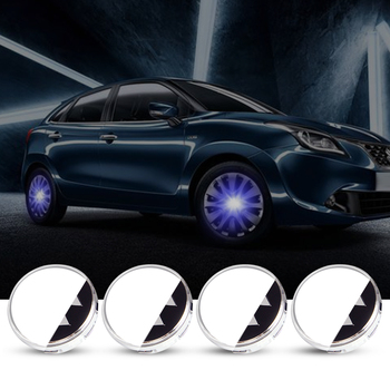 For Suzuki 56mm 4X Hub Light Car Wheel Caps Light Center Cover Lighting Cap Floating Illumination LED bulb auto car styling