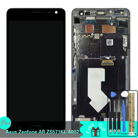 LCD For Asus Zenfone AR ZS571KL A002 LCD Display Touch Screen Digitizer Assembly Replacement With Frame