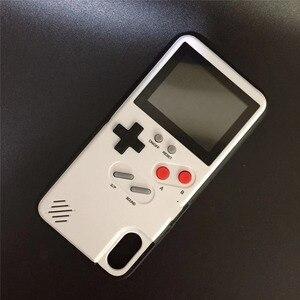 Image 5 - Retro kolorowy pokrowiec na Iphone 12 Pro Max 7 8 plus X XR XS pokrowiec na iphone 12 Pro na iphone 12 Pro Max 12 pokrowiec Gameboy