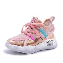New Children Luminous Shoes Boys Girls Sport Running Shoes Baby Flashing Lights Fashion Sneakers Toddler Little Kid LED Sneakers цены онлайн