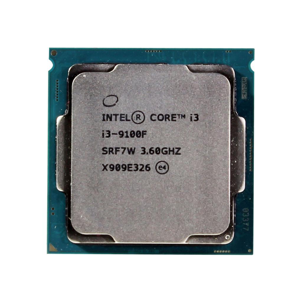 Процессор Intel Core i3 9100F 3,6 GHz SRF7W/SRF6N четырехъядерный процессор 65W 6M процессор LGA 1151 Процессоры      АлиЭкспресс