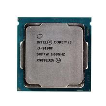 Intel Core i3 9100F 3.6GHz SRF7W/SRF6N Quad-Core Quad-Thread CPU 65W 6M Processor LGA 1151