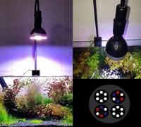 Spotlight Verlengen DIY E27 lamphouder led aquarium klem Aquarium Clip licht groeien klem coral light stand-in Lampvoet van Licht & verlichting op