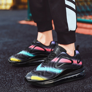 Image 4 - النساء أحذية أحذية رياضية وسادة هوائية المدربين أحذية امرأة منصة حذاء رياضة الخريف الشتاء الأحذية تنفس لينة سلة فام
