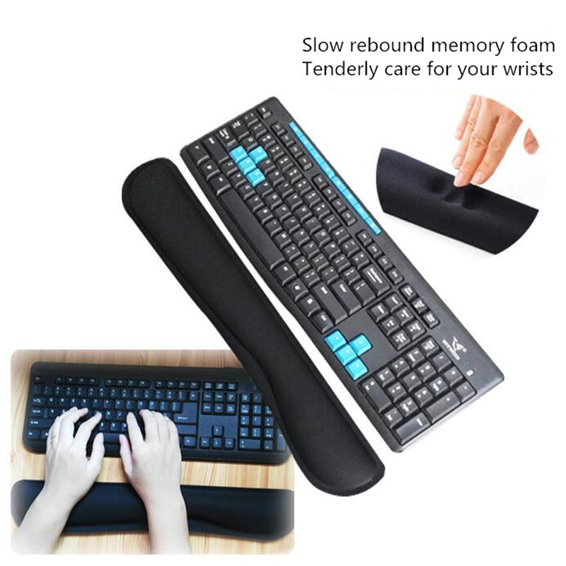 Keyboard Hand Care Mouse Wrist Pads Wrist Care Ergonomic Memory Cotton MousePad Hand Relaxing for Office Computer Pc(China)