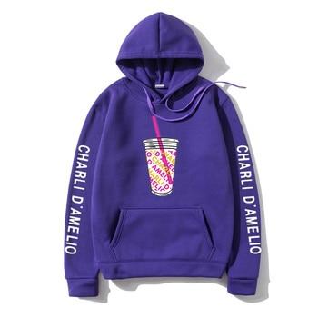 Harajuku Ice Coffee Splatter Hoodies Sweatshirts Men japanese streetwear hoodie Charli DAmelio Pullover Unisex Costume Tracksuit 28