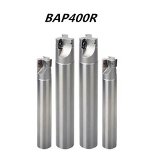BAP400R C24 C25 full series hardened anti-vibration CNC right angle milling cutter APMT1604 R0.8 end cutting tool