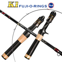 Fuji carbon ul spinning rods 1.37m1.57m Solid tip Butt joint rod 3-12g ultra light casting spinning lure fishing Trout rods pod