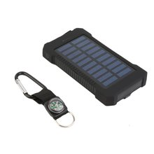 цена на 300000mAh Dual USB Portable Solar Battery Charger Solar Power Bank High Capacity Environmentally-friendly power bank