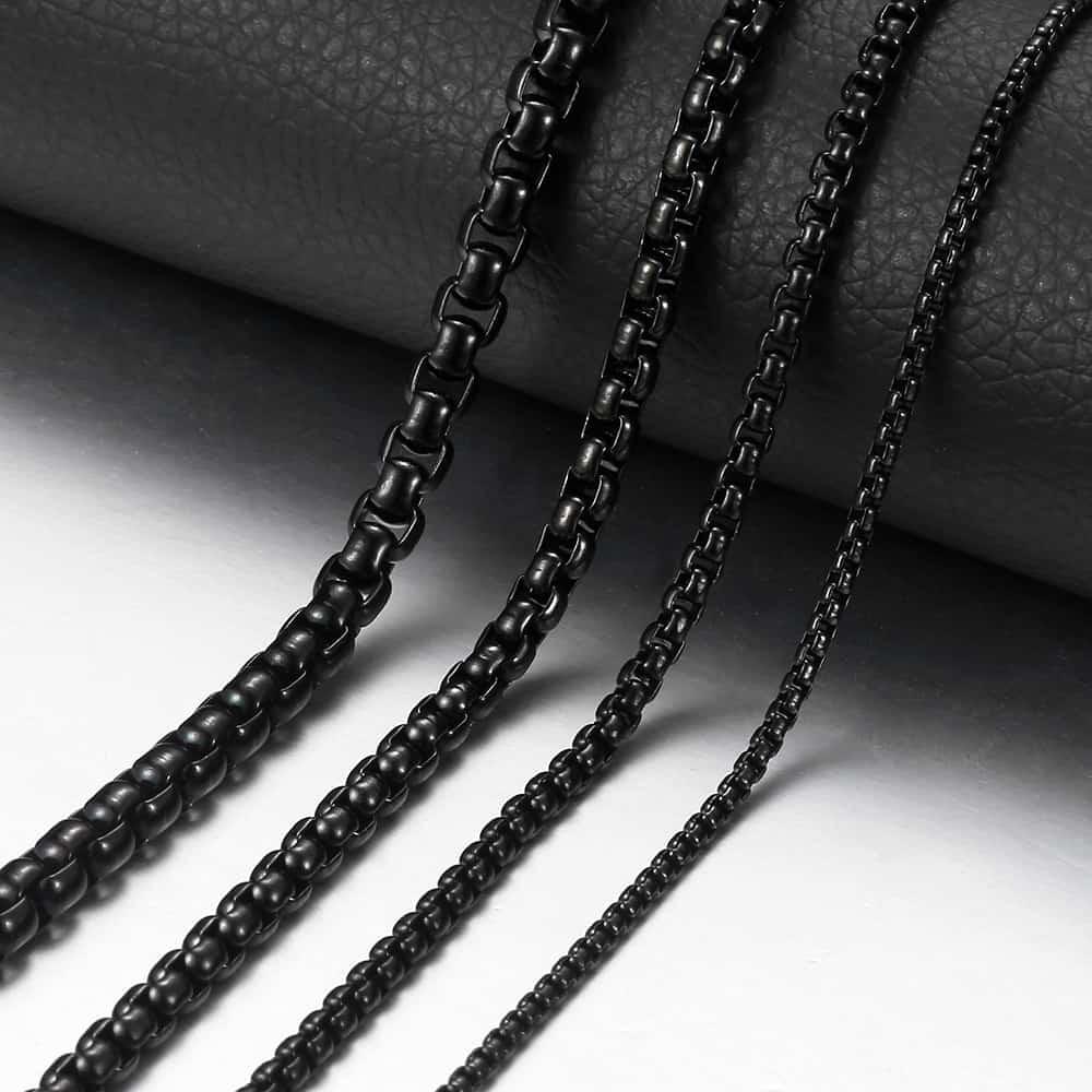 Media Link Light colour negro 100 eslabones