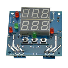 12V Intelligent Temperature Humidity Controller Relay Thermostat Module AC/DC GV99 цена