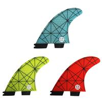 HiMISS FCSII G5 Tri Fin Set Surfboard Honeycomb Fins FCS 2 Fin FCS II Fin Quilhas