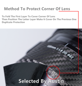 Image 3 - For Lens Skin Sony FE 24 70 2.8GM Anti scratch Decal Sticker Wrap Film Protector Case